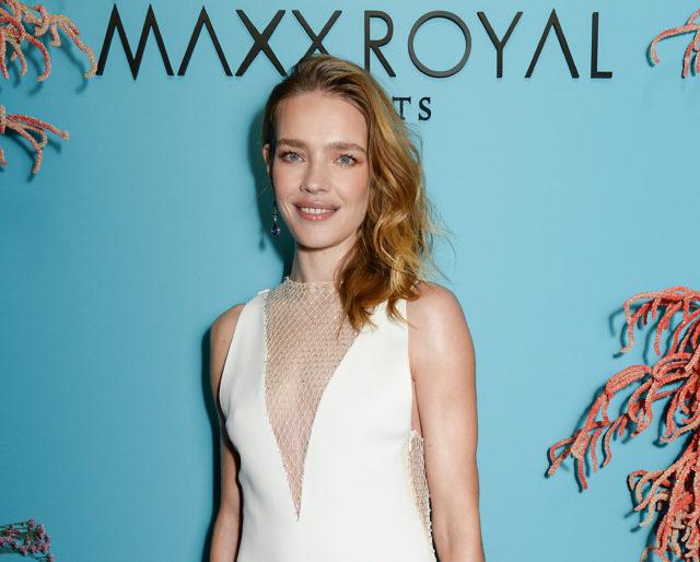 Наталья Водянова на ужине Maxx Royal Resorts