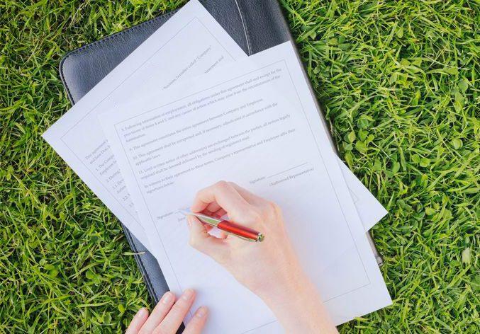 Составление акта приема-передачи земельного участка