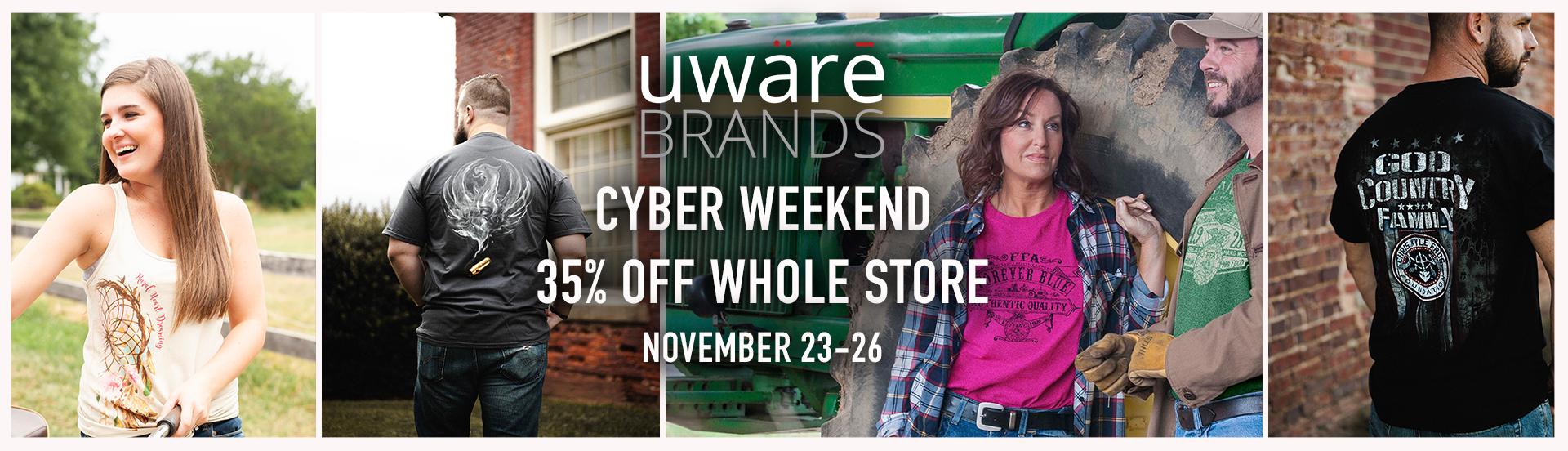 uwaretees.com