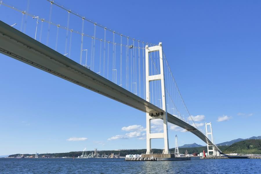 室蘭ー白鳥大橋