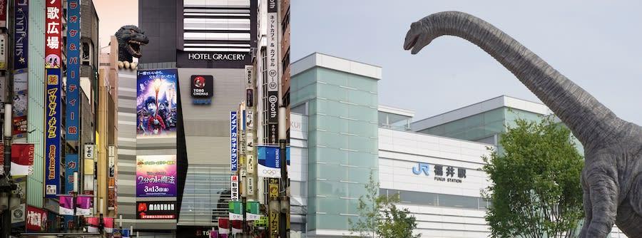 東京から福井