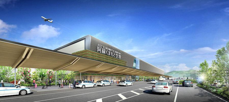 熊本空港新ターミナルイメージ