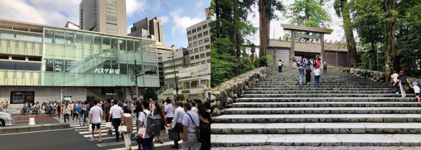バスタ新宿・伊勢神宮