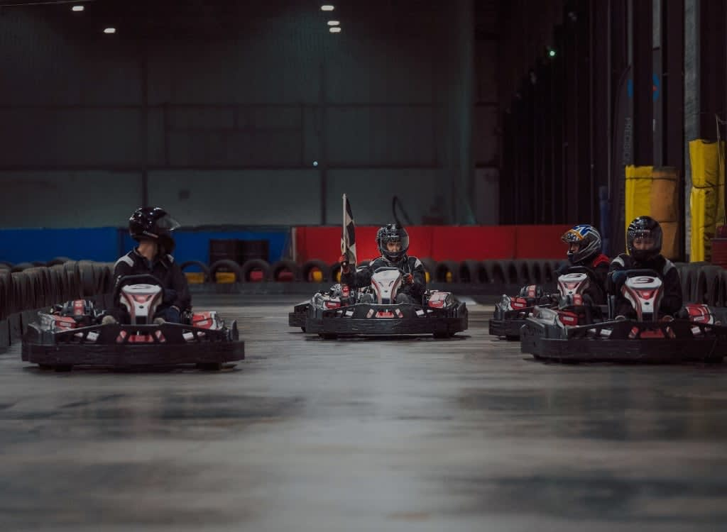 <h2> Exhilaratingly Fast</h2> <p> Experience the excitement and thrills of high speed racing in one of Ireland&rsquo;s most outstanding karting circuits</p>