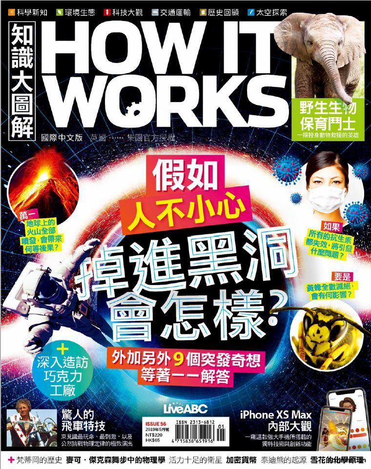 HOW IT WORKS知識大圖解 國際中文版 2019年5月號 第56期