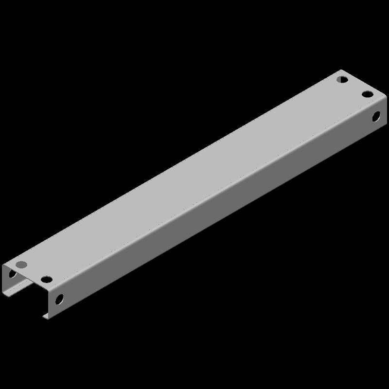 ロングCチャンネル(同径,8穴)