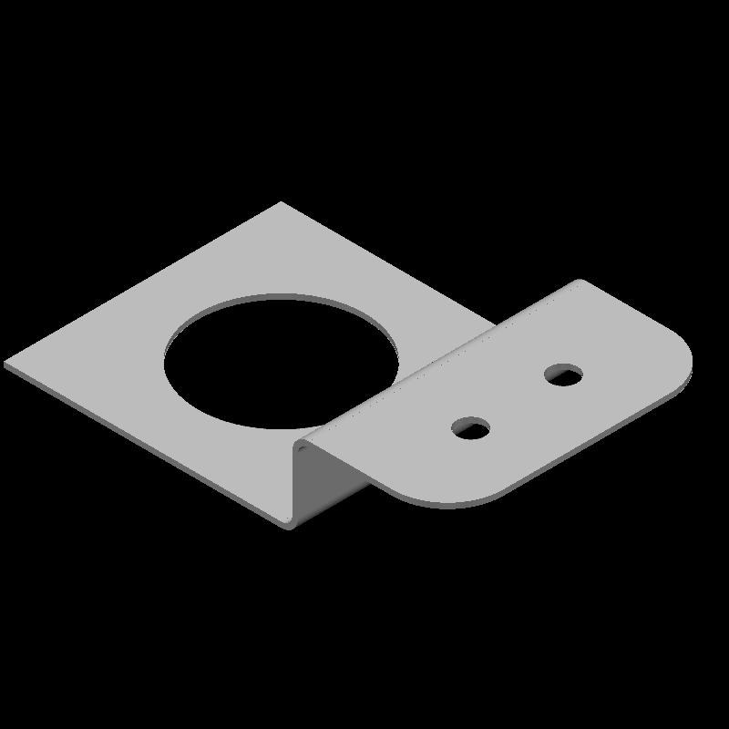 センサブラケット(異径,3穴)