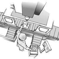 立形マシニングセンタとは?構造、用途、種類を解説