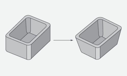 抜き勾配の計算方法や設計時に必要な角度を解説!