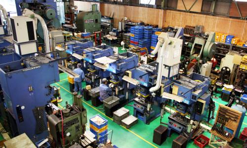プレス加工のおすすめ工場5選!!金型製作や微細加工等様々な工場をご紹介