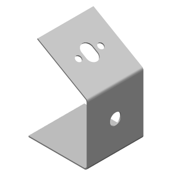 傾斜引っ掛け金具(長丸穴,丸穴) (部品ID: 354102962)