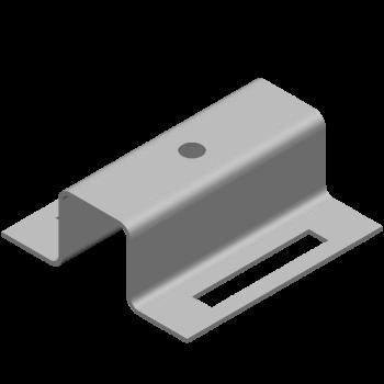 ハット金具(長丸穴,丸穴) (部品ID: 404824078)