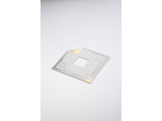 HCT基板。NASAとテクダイヤのダブルロゴ