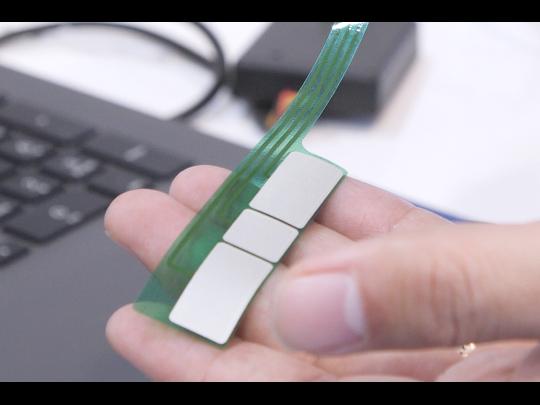 【応用製品】インクジェット基板で作る生体電極