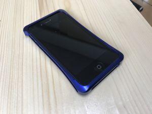 iPhoneのアルミバンパー