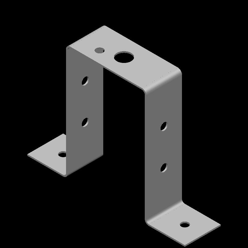 ハット金具(異径,8穴)