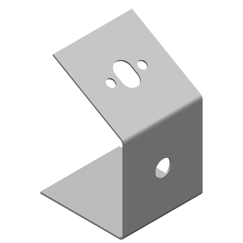 傾斜引っ掛け金具(長丸穴,丸穴)