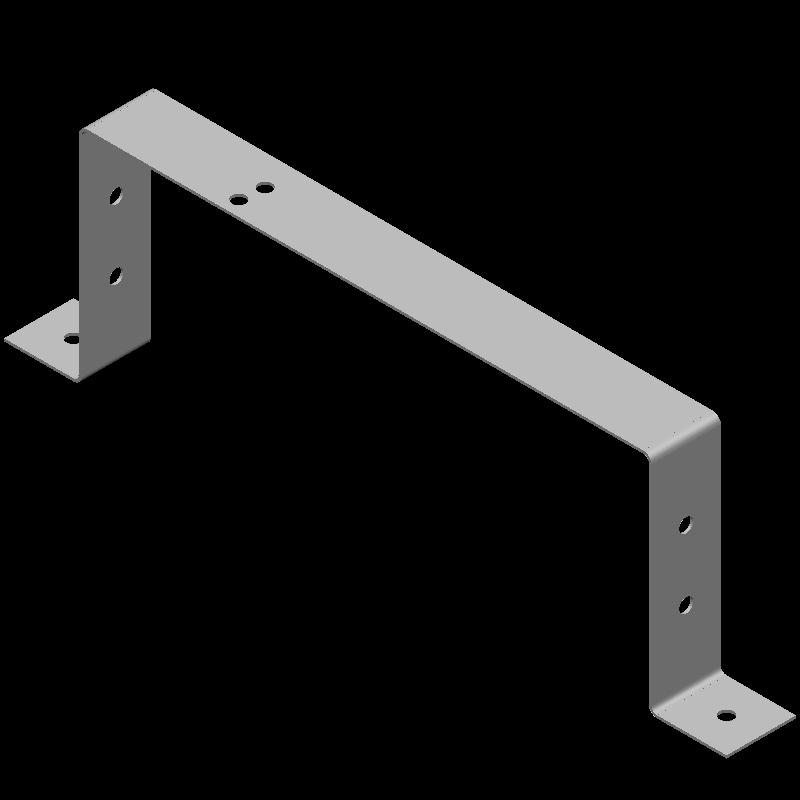 ハット金具(同径,8穴)