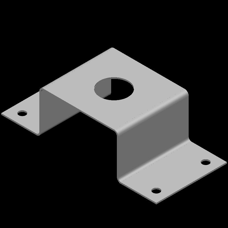 ハット金具(異径,5穴)