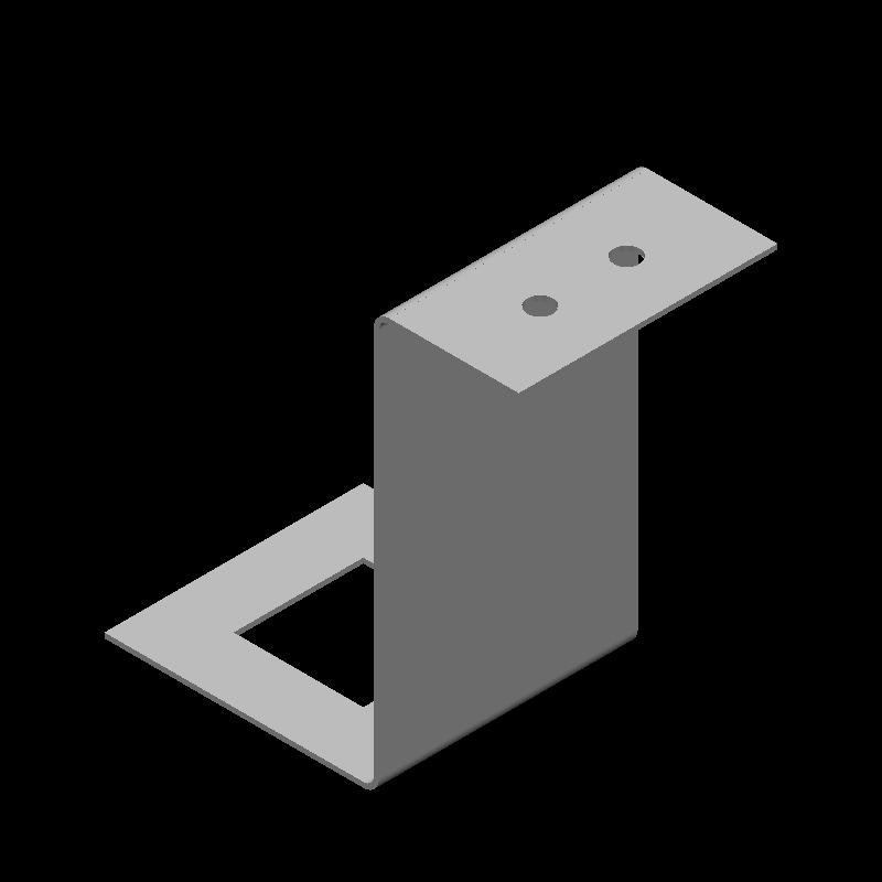 Z字金具(角穴,丸穴)