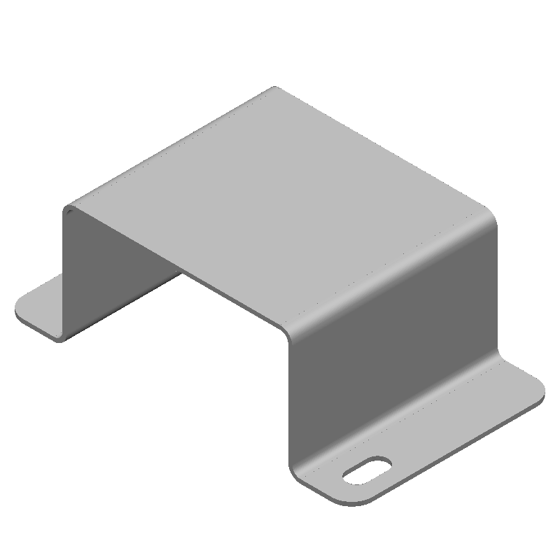 ハット金具(1穴)