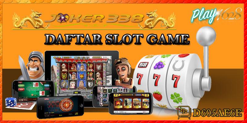 Daftar Slot Game