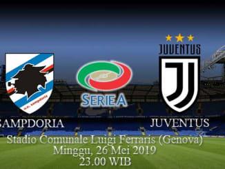 Prediksi-Pertandingan-Sampdoria-Vs-Juventus-26-Mei-2019