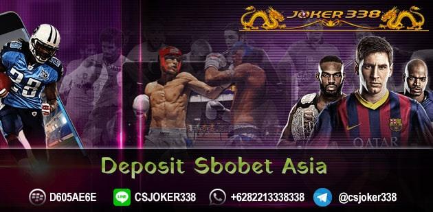 DEPOSIT SBOBET ASIA