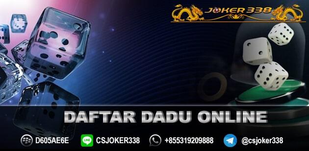 Daftar Dadu Online