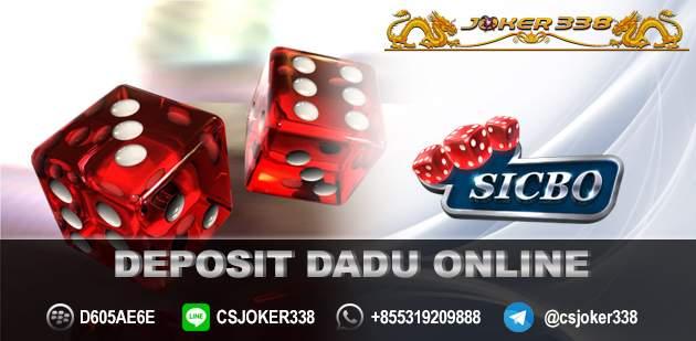 Deposit Dadu Online