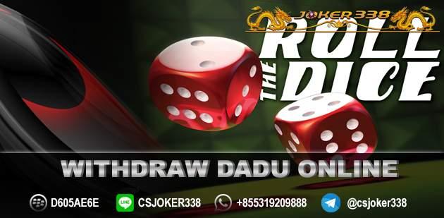 Withdraw Dadu Online