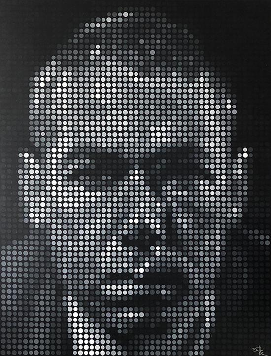 MCA - Adam Yauch Pixel Painting by Justin Blayney