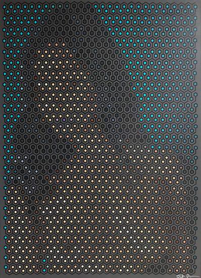 renee: maze pixel painting