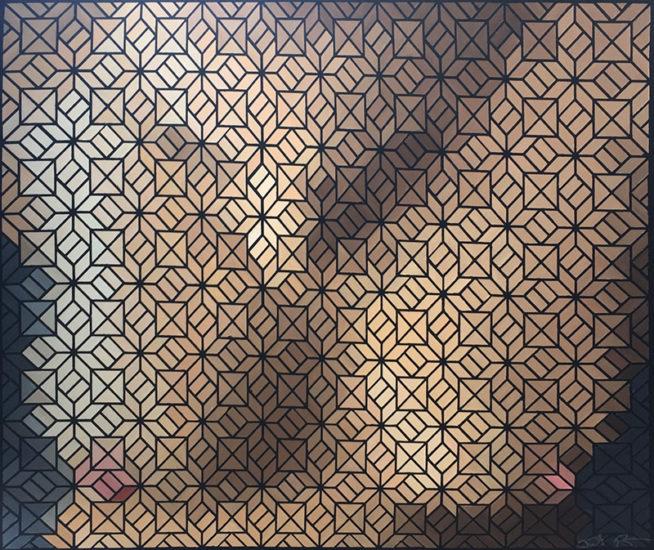 untitled nude justin blayney pixel art