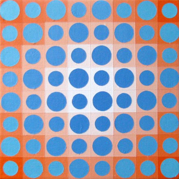 Cadmium Orange and Blue