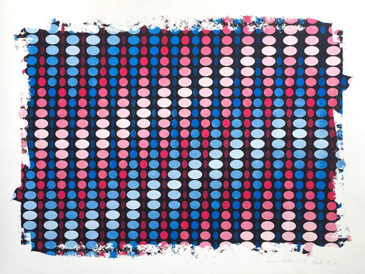 pixel colour study, by Justin Blayney