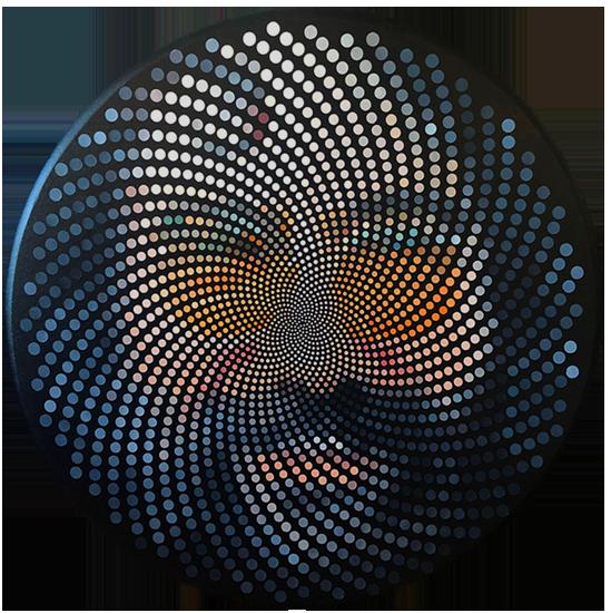 Fibonacci Jerry Garcia by Justin Blayney