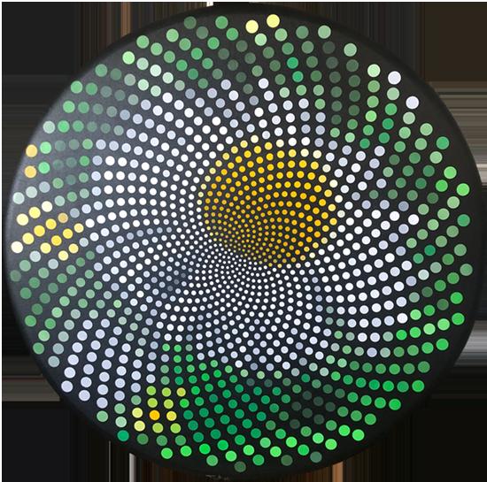 fibonacci camomile, by Justin Blayney