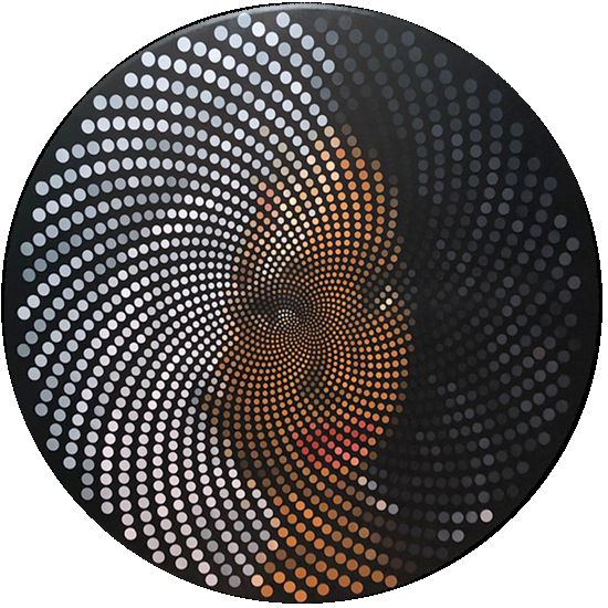 Fibonacci Munira Pixel Painting by Justin Blayney