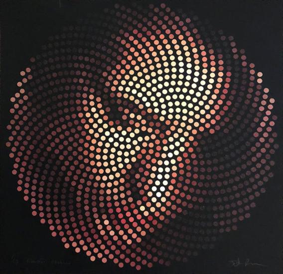 Fibonacci Madonna, print by Justin Blayney