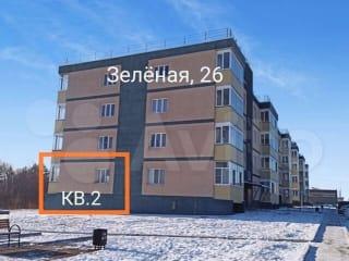 Своб. планировка, 67 м², 1/4 эт.