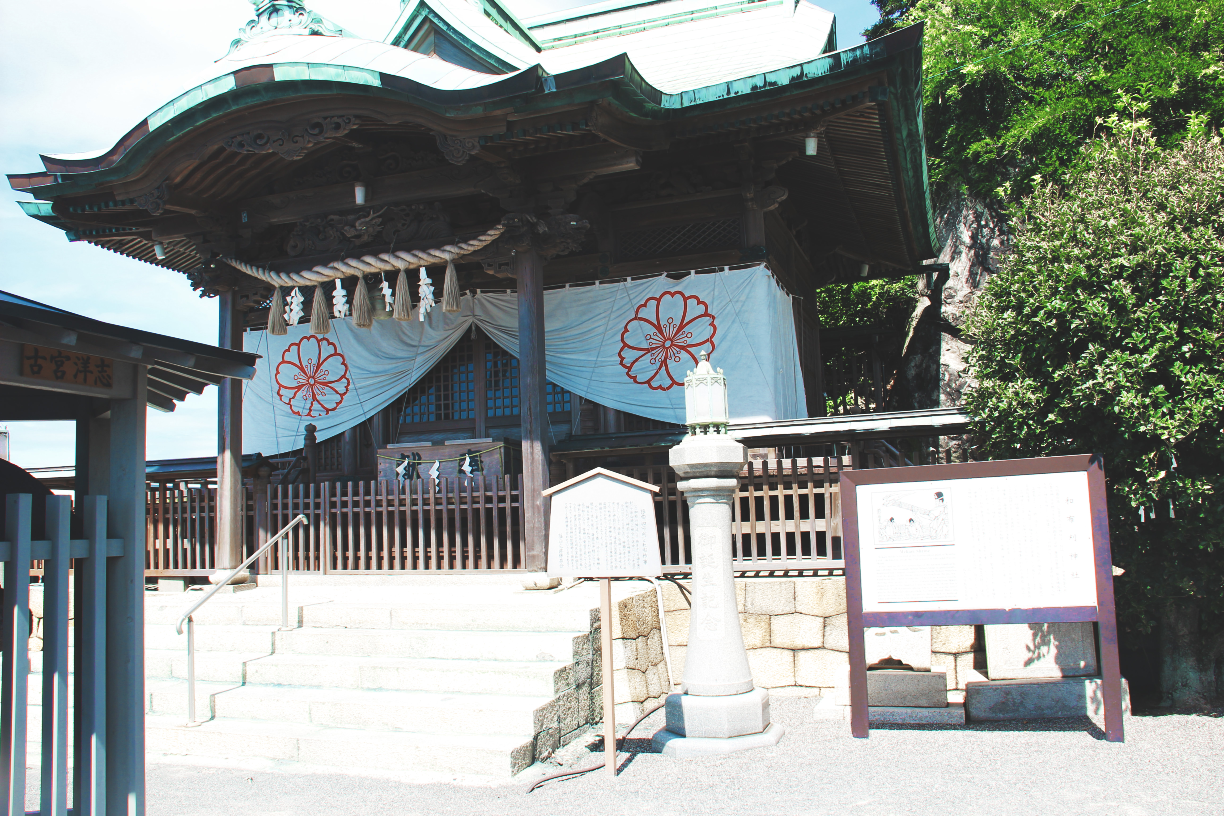 和布刈神社拜殿