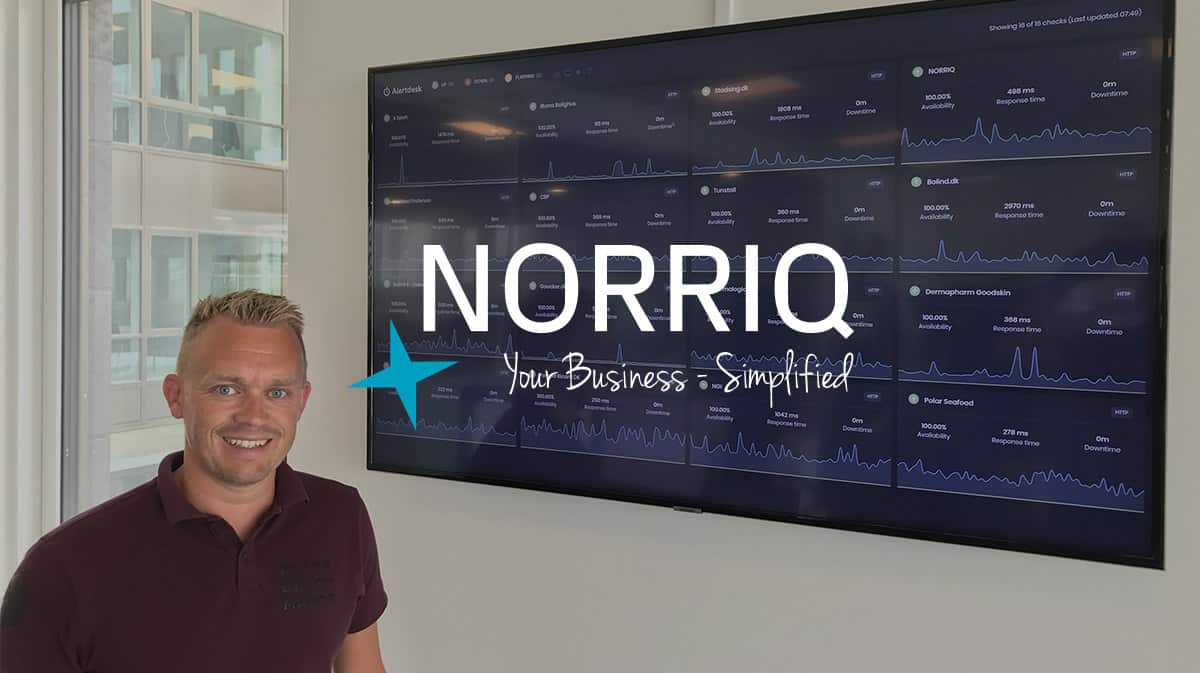 NORRIQ: Monitoring of customers eCommerce stores