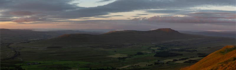 Dawn over Ingleborough