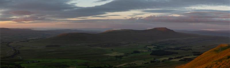 Dawn over Ingleborough