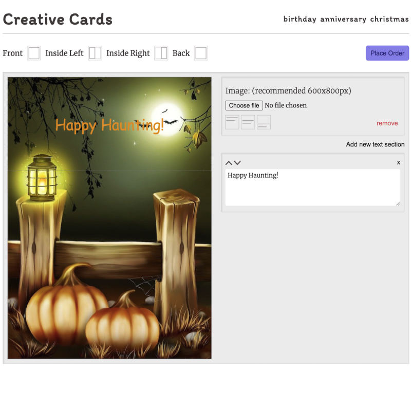 creative cards project image