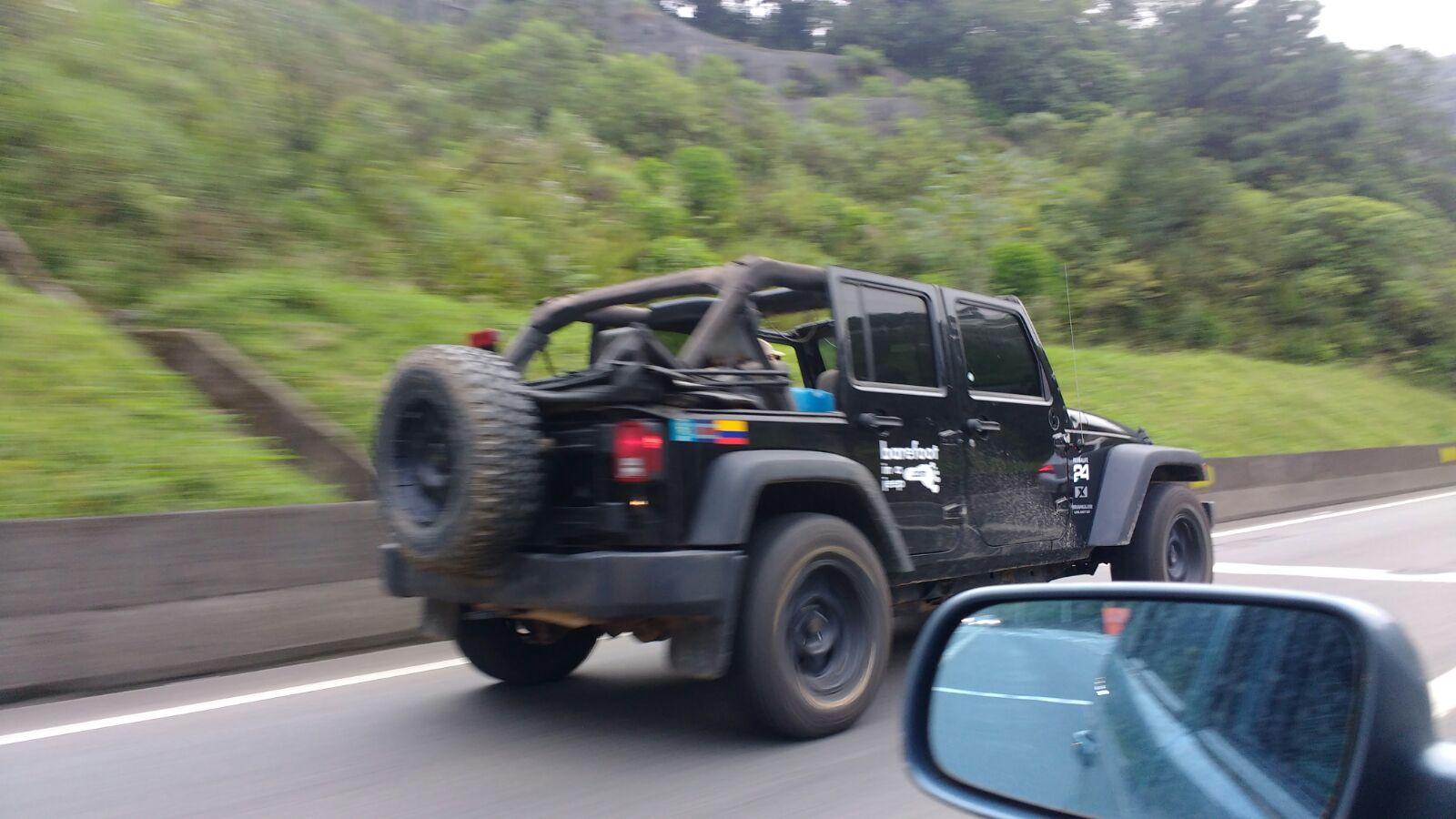 Overland Brazil Jeep
