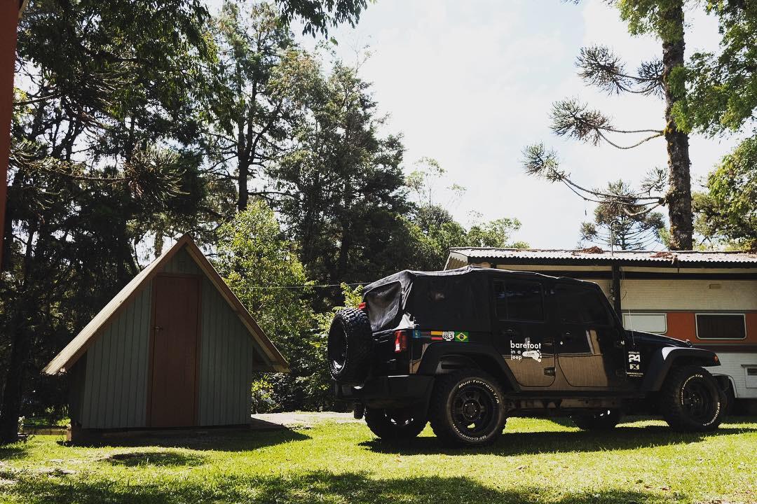 Jeep Wrangler in Gramado, Brazil