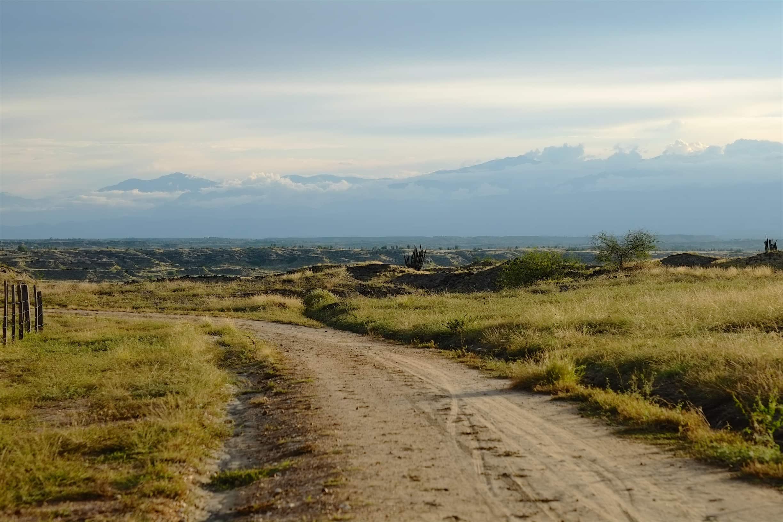 Jeep in Tatacoa desert
