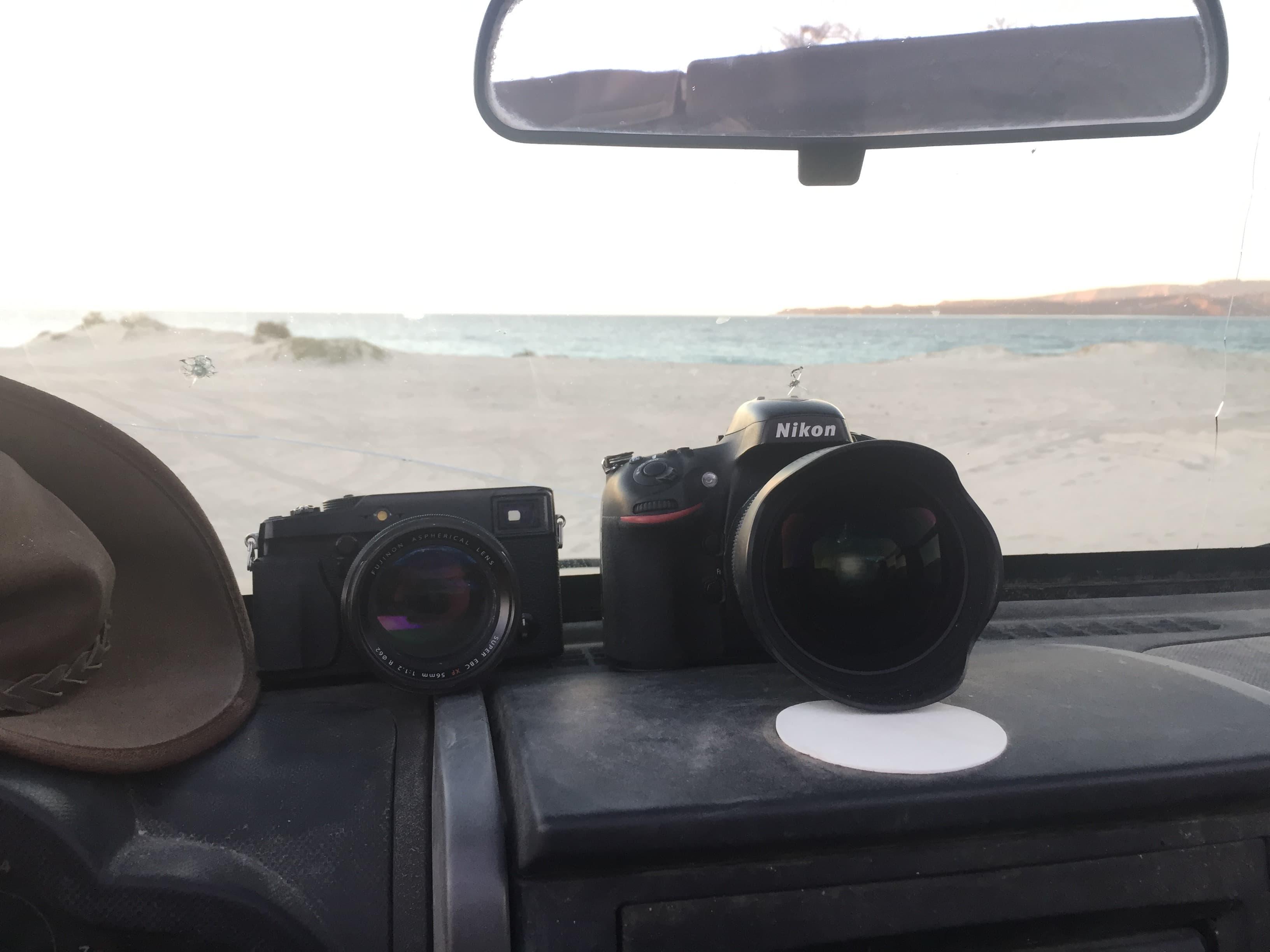 X-Pro1 vs Nikon D800